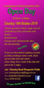 Campbelltown Lapidary Open Day